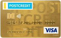 POSTCREDIT TT Visa Gold